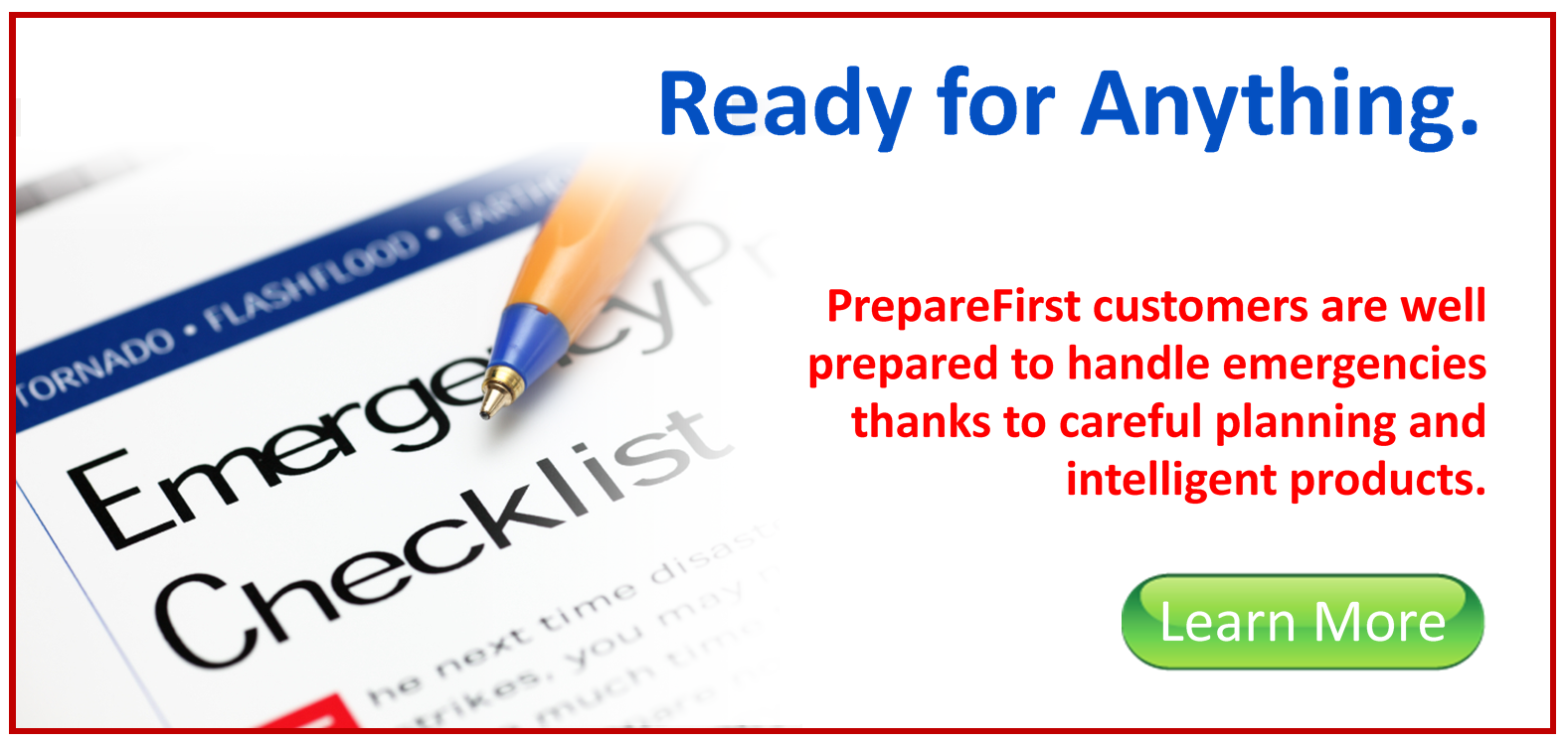 Click here for EMERGENCY PREPAREDNESS